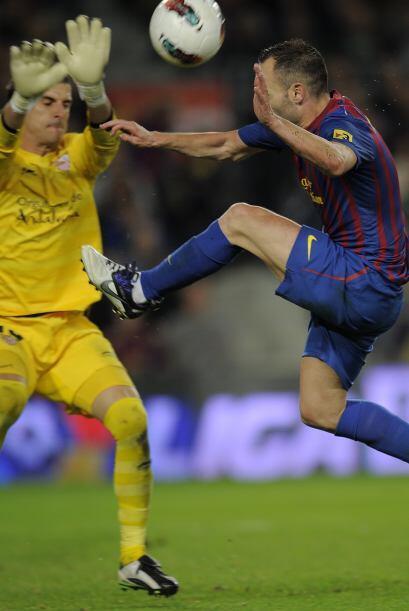 El Barcelona lo buscó pero no pudo. Los palos, el portero y la mala suer...