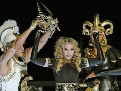 A sus 53 años, 'La Reina del Pop' demostró que tiene la en...