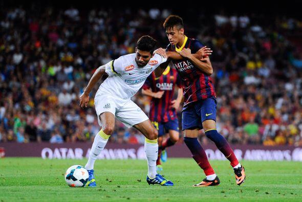 """""""Ha sido una sensación maravillosa jugar por primera vez en el Camp Nou..."""