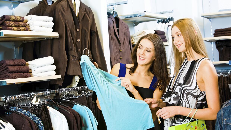 Comprando ropa