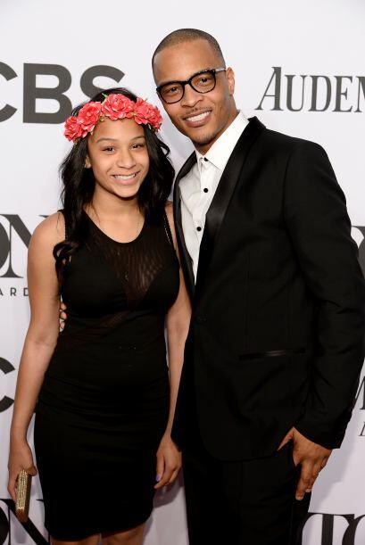 El rapero T.I. con su hija Deyjah Imani.Mira aquí los videos más chismosos.