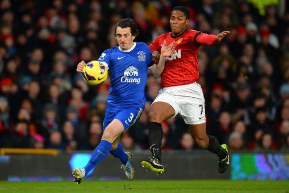 Pocos fueron los intentos del Everton por responder al rival.