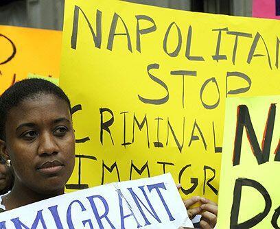 Reforma migratoria postergadaPese al ofrecimiento de campaña de p...