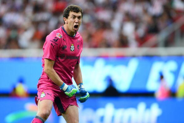 La Estrella: La figura del partido fue el arquero de Santos, Agustín Mar...