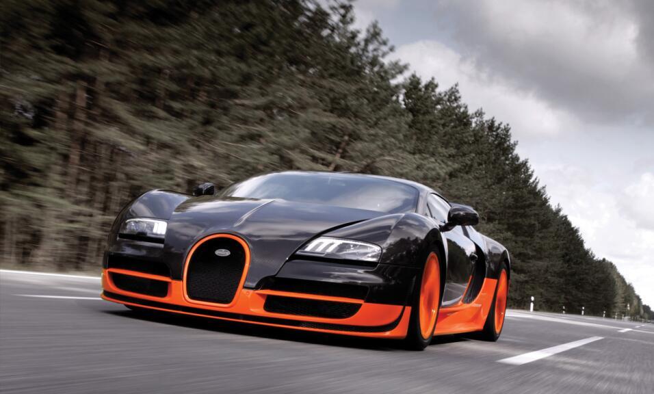 Puesto 2: la Bugatti Veyron no podía quedar fuera del ranking, en su ver...
