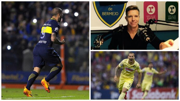Darío Benedetto tiene un tatuaje de Boca Juniors en la piel y en el 2016...
