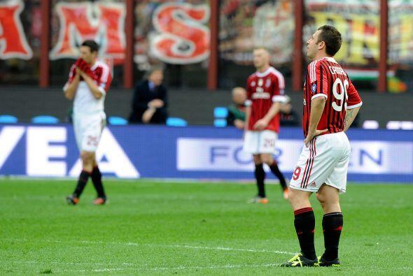 La única noticia positiva en el Milan fue el regreso a las canchas del d...