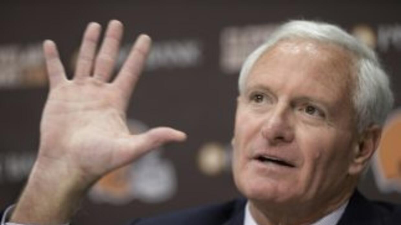 Jimmy Haslam es el dueño de los Browns (AP-NFL).