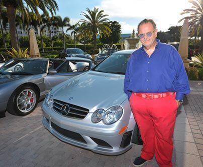 Lujo alemánEntre los autos de Raúl de Molina no podía faltar el glamour...