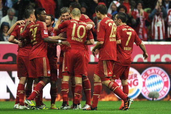 El Bayern llega en un momento dulce a este partido, tras encadenar una r...