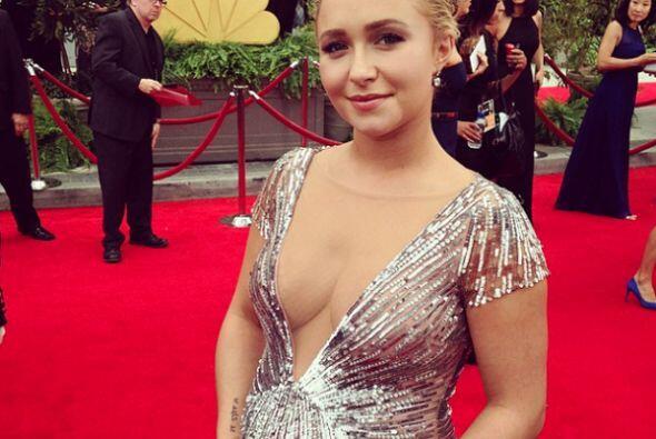 Hayden Panettiere presume su hermosa pancita de embarazo con un vestido...