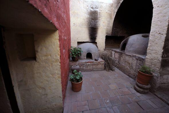 El convento fue fundado en la época de los conquistadores.