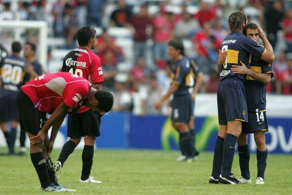 En los cuartos de final se volvería a ver las caras con el Boca Juniors,...