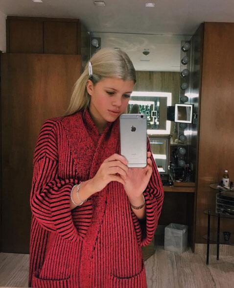Sofia Richie en Instagram
