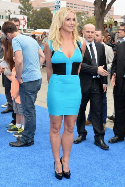 Britney Spears es otra de las celebridades que han optado por esta moda.