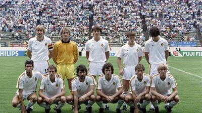 Historias de Mundiales: la generación dorada de Bélgica que brilló en México 1986