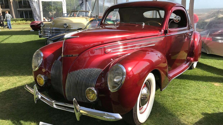 Lincoln Zephyr Coupe -tres ventanas- 1939