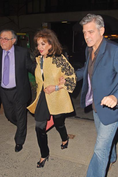 Clooney hizo de todo para caerle bien a sus suegritos, Ramzi y Baria Ala...