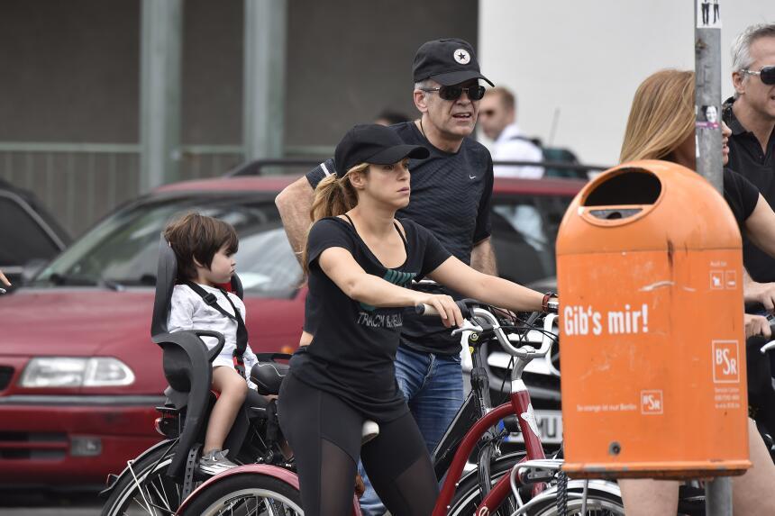 Shakira y Milán