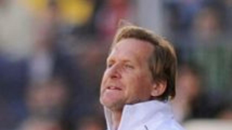 Schuster fue expulsado en el último partido del Málaga.