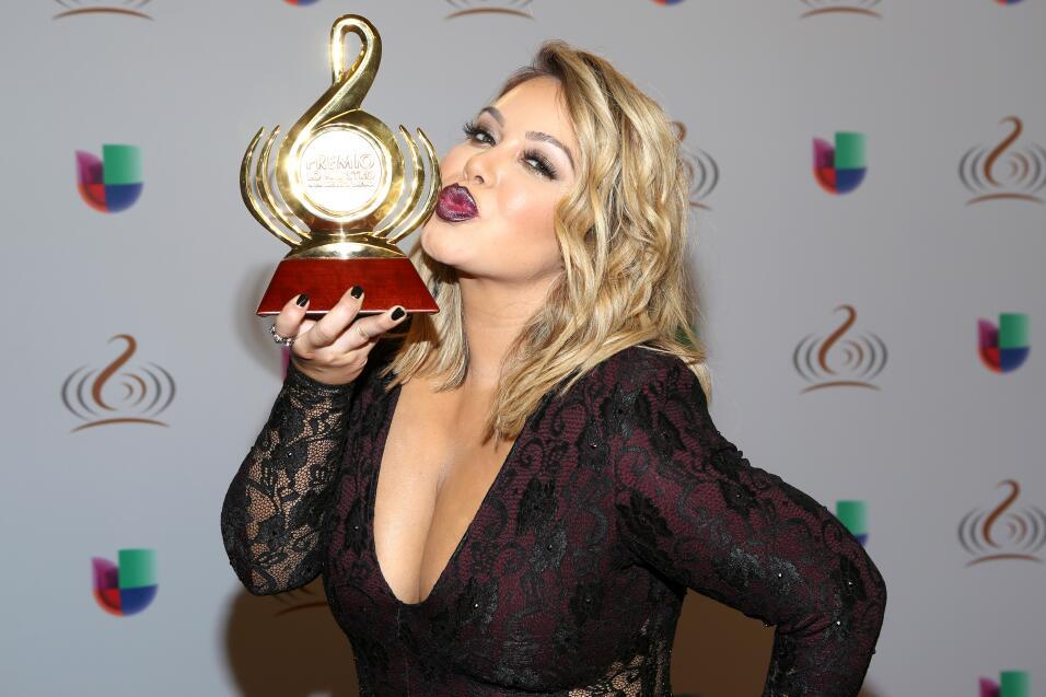 La bella y talentosa Chiquis Rivera dijo presente.