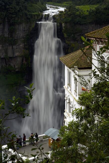 hotel del salto en Tequendama