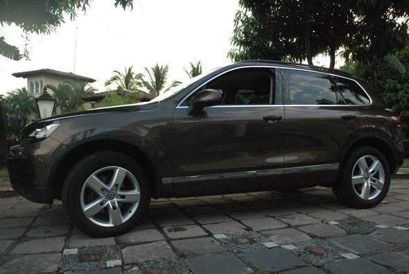 Volkswagen de México presentó la completamente rediseñada Touareg 2011.