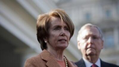 Pelosi anunció esta semana que continuará en su cargo en la próxima sesi...