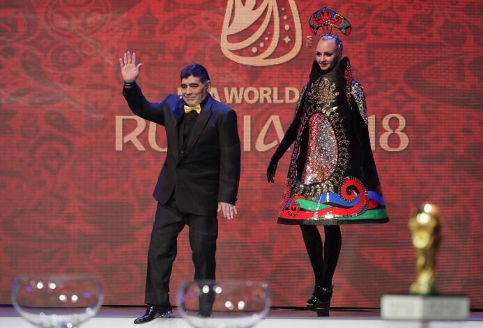 El colorido y la fiesta de los espectáculos en el sorteo del Mundial Rus...