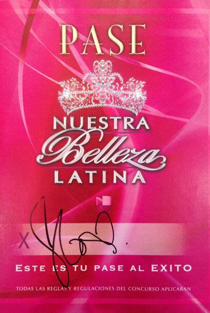 Aquí está el pase de JLo a Nuestra Belleza Latina 2015.