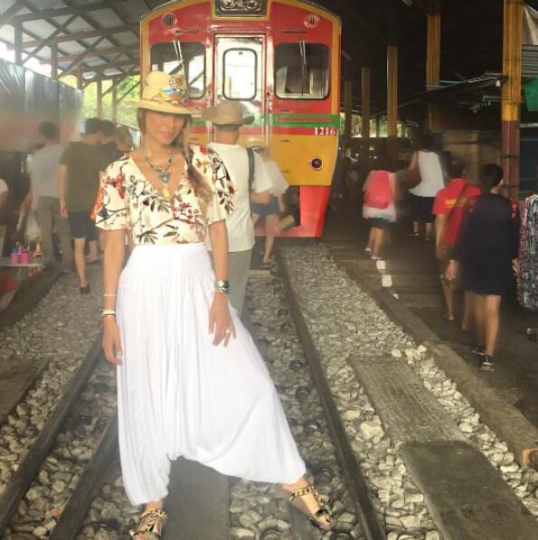 Galilea Montijo vacaciones 2017