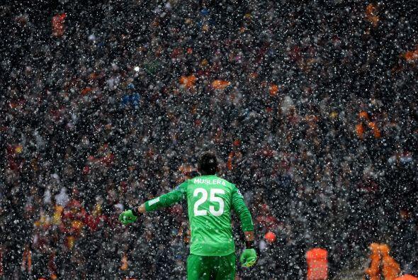 La nieve que caería en territorio turco sería el verdadero protagonista...