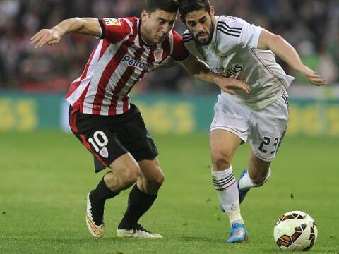 El Real Madrid se topó con pared en su visita al nuevo San Mam&ea...