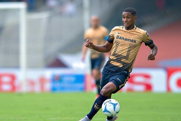 Uno de los nuevos jugadores de Pumas es Fidel Martínez, el ecuatoriano h...