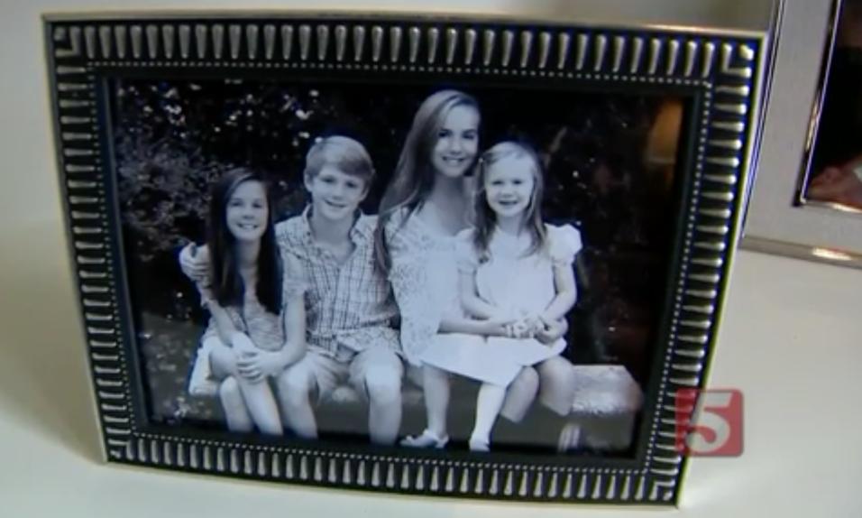 Hailey, Matthew, Rebecca y Sarah Fox, los cuatro hijos de Bryan y Megan...