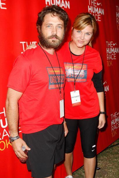 En 2008 acompañó a Jason Priestley a un evento de caridad - y debió pres...