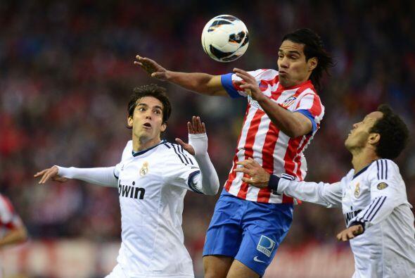 Falcao presume para los rojiblancos como el antídoto de Ronaldo. El atac...