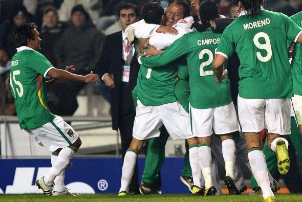 Este gol sorprendió hasta a los mismos bolivianos que estuvieron cerca d...