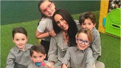 Inés Gómez Mont e hijos