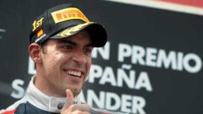El piloto venezolano, Pastor Maldonado triunfó en el Gran Premio de España.