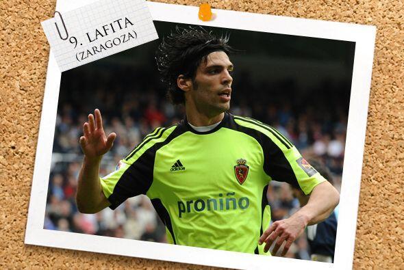 Ya en el ataque, Angel Lafita se ganó con goles su puesto en este Once.