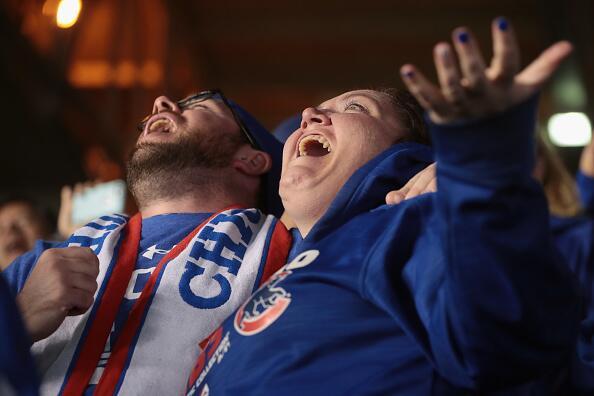 Los Cubs ganaron tres a dos en el quinto juego de la Serie Mundial