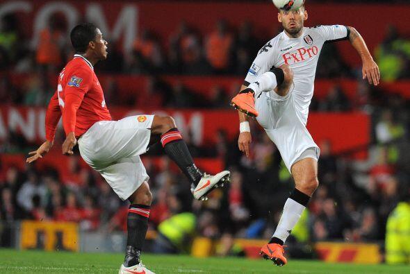 Manchester United cerró la fecha 30 de la Liga Premier inglesa recibiend...