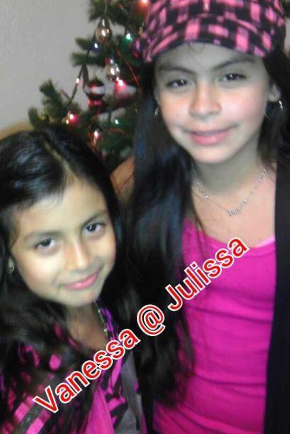 Abelardo Sánchez nos compartió esta tierna foto de sus hijas, Vanessa y...