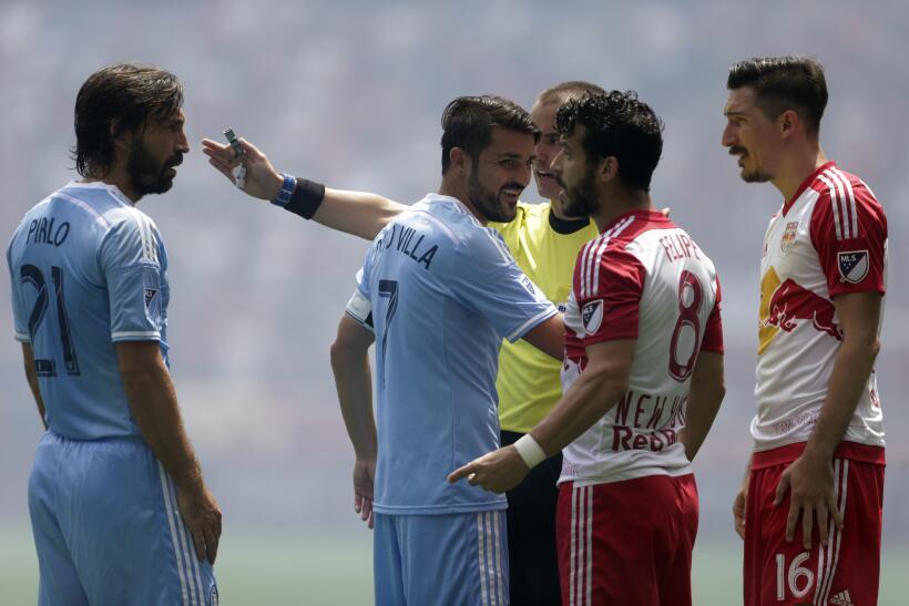Yangel Herrera, Federico Higuaín y Alejandro Bedoya comandan el Equipo d...