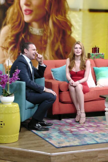 Bella Thorne en Despierta América 2015