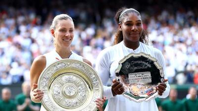 En fotos: Angelique Kerber conquista Wimbledon por primera vez