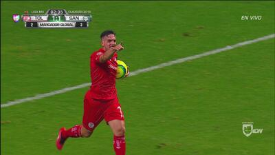 De carambola, Gabriel Hauche marcó el empate para el Toluca