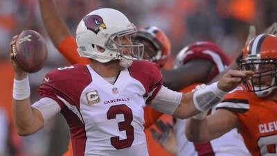 Cardinals 34-20 Browns: Palmer lanzó cuatro pases de TD en gran regreso...