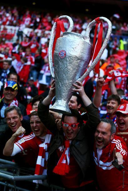 Aunque los rojos del Bayern también se hicieron sentir.